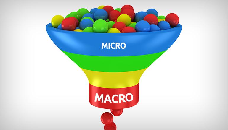 macro e micro conversões