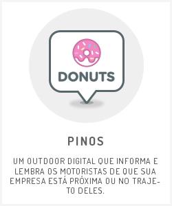 Pinos - anúncios no Waze